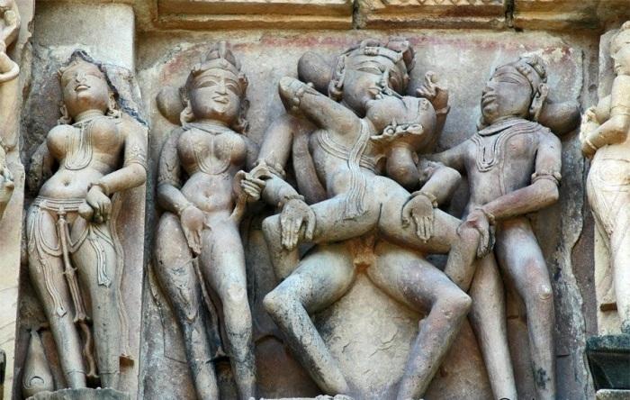 Индийский храм секса