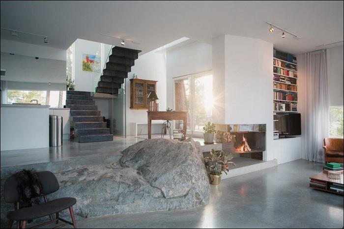 Минималистичный интерьер дома.
