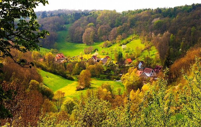 Rothenberg, Германия.