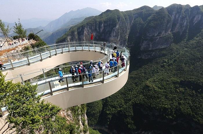 Chongqing walkway - стеклянная смотровая площадка.