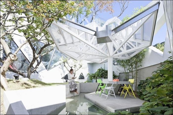 Hwa Hun. Внутренний дворик.