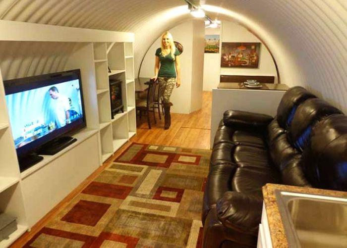Atlas - подземное убежище в США.