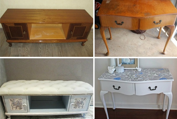 Новая жизнь старой советской мебели.