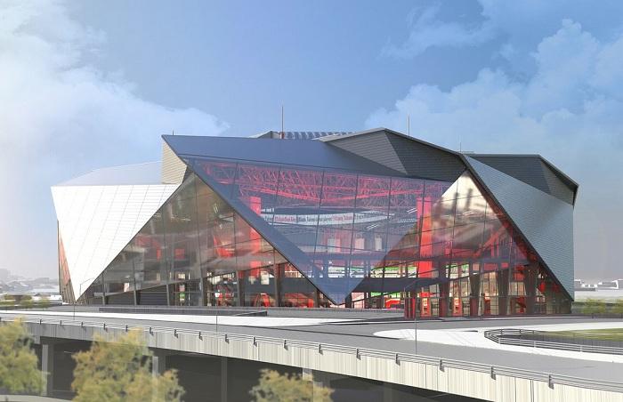 Компания HOK реализует проект строительства стадиона в Канзасе.