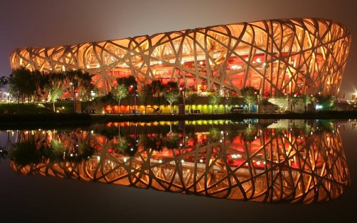 Beijing National Stadium.