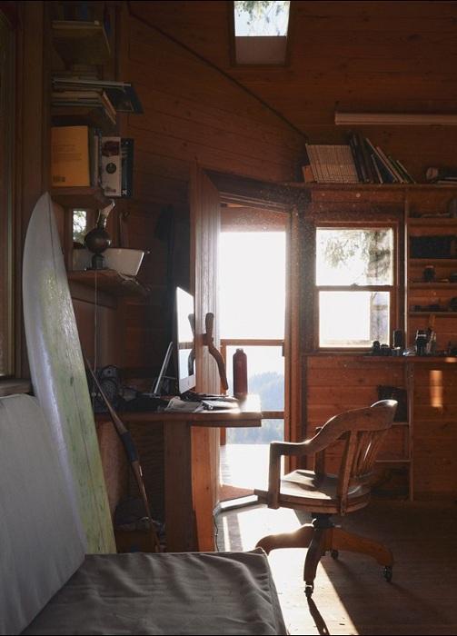 Treehouse. Вид изнутри.