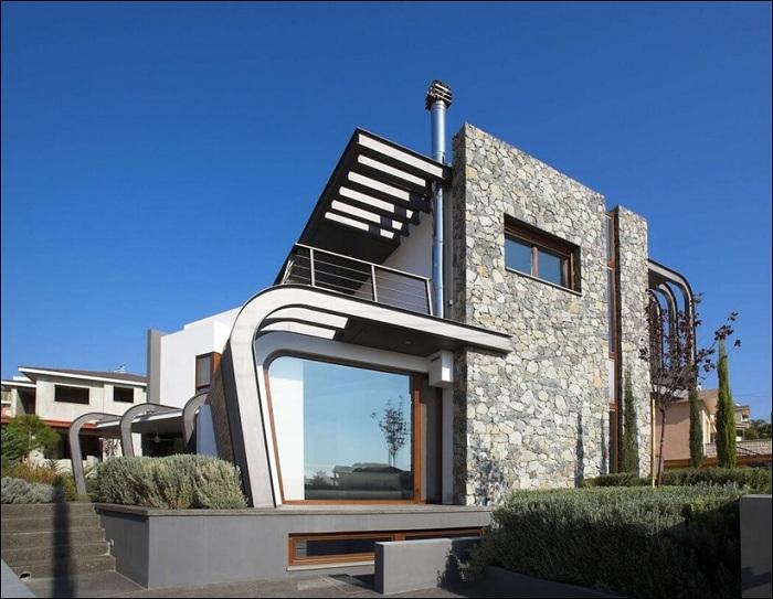 Архитекторский проект студии Tsikkinis Architecture Studio.