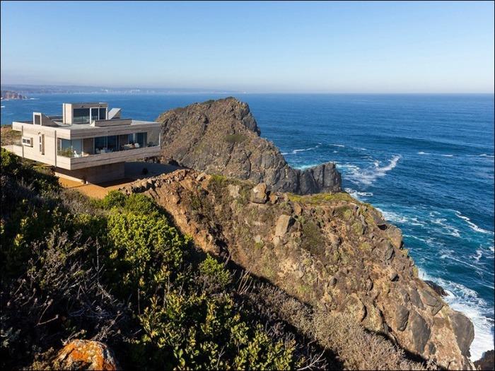 Casa Mirador - вилла на скалистых берегах Тихого океана.