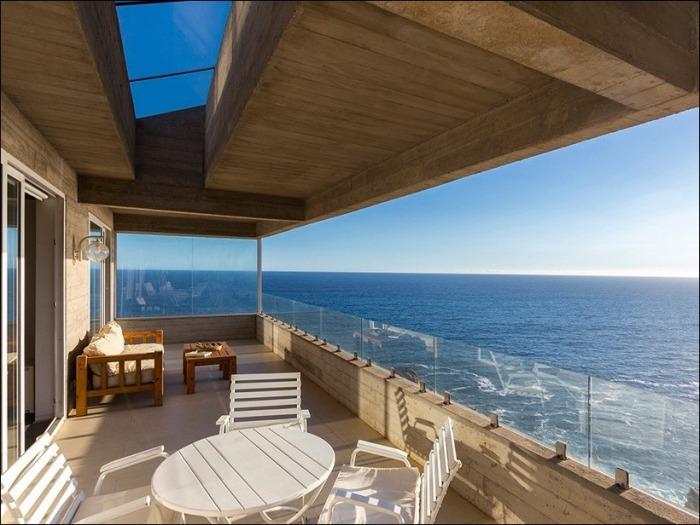 Casa Mirador. Терраса с видом на Тихий океан.
