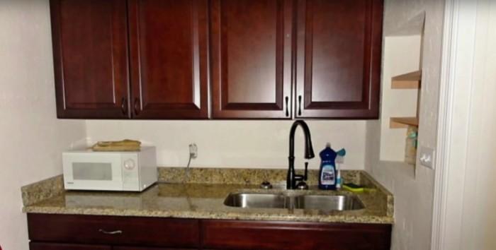 Кухня после ремонта.