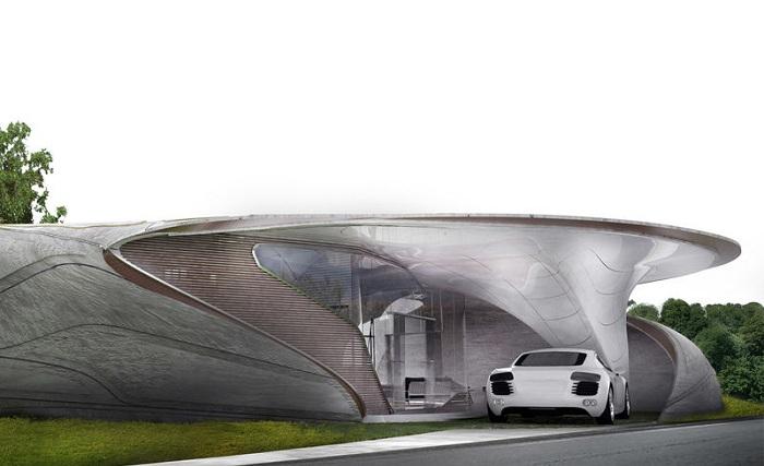 Концепт дома от студии WATG's Urban Architecture Studio.
