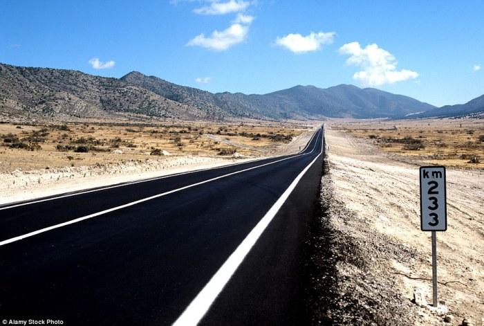 The Pan-American Highway - лорога протяженностью 48 000 километров.