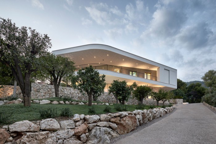 Архитекторский проект фирм A2CM и Ceschia е Mentil Architetti Associati.