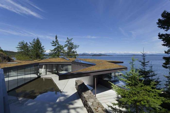 Tula House - дом с видом на Тихий океан.
