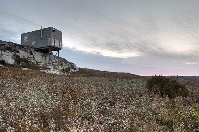 Cliff House - дом, «зависший» в воздухе.