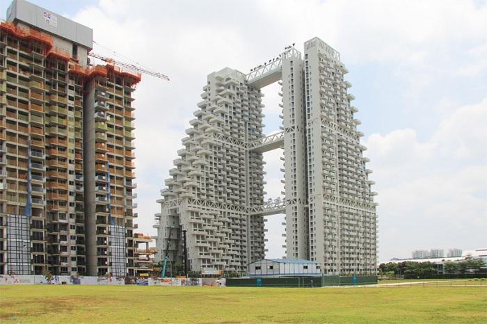 Sky Habitat - жилой комплекс в Сингапуре.