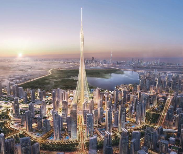 Проект самой высокой башни в мире.