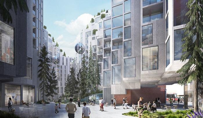 Проект редевелопмента от архитектора Bjarke Ingels.