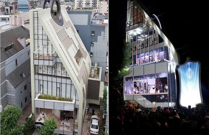 Музей сумок в Южной Корее.