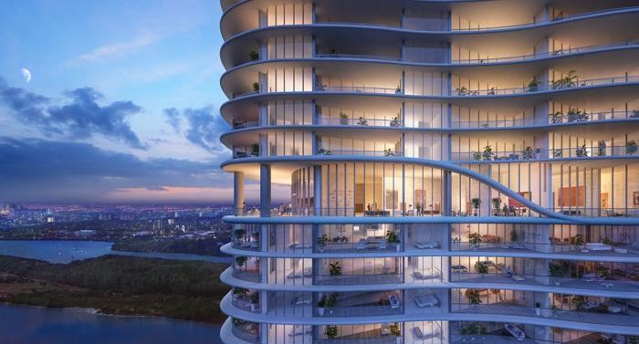 Проект отеля архитектурной студии Architectonica.