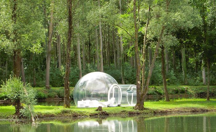 Палатка, разработанная специалистами из компании Holleyweb.