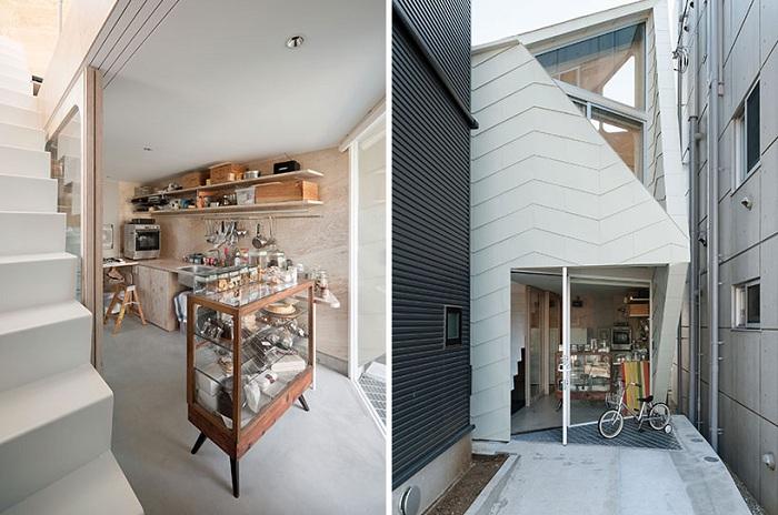 Проект архитектурной практики Flat House.