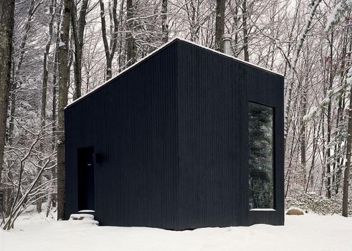 Hemmelig Rom - уединенная библиотека в лесу.