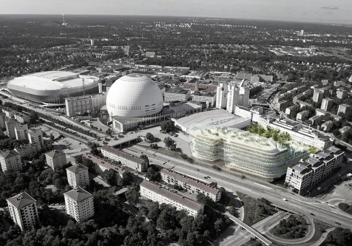 Архитекторский проект студий SelgasCano и U.D. Urban Design AB.