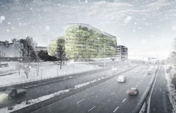 Drivhus-будущее здание для гос. служащих в Стокгольме.