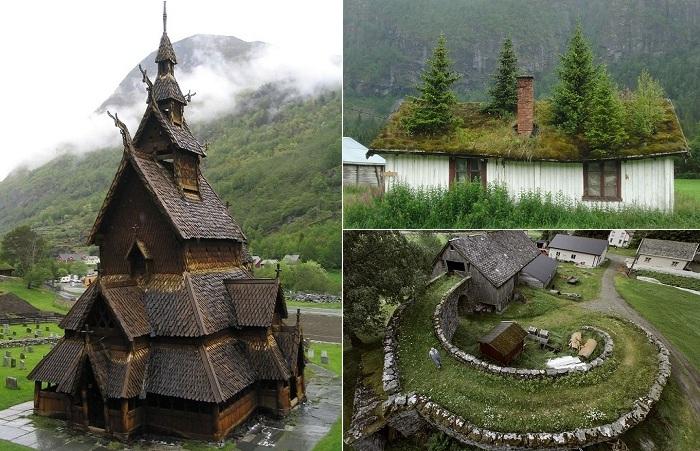 Самобытная архитектура Норвегии.