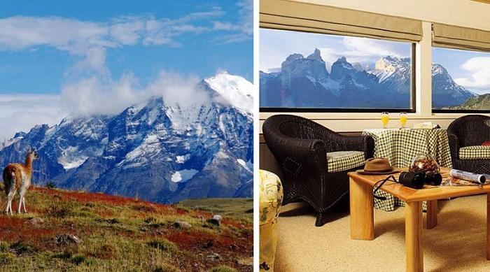 Explora Patagonia - высококлассный отель.