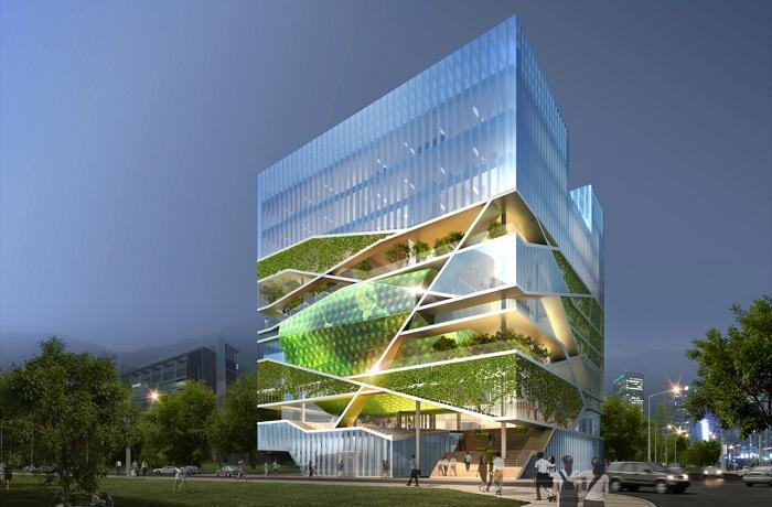 Проект архитектурной компании Un SangDong Architects.