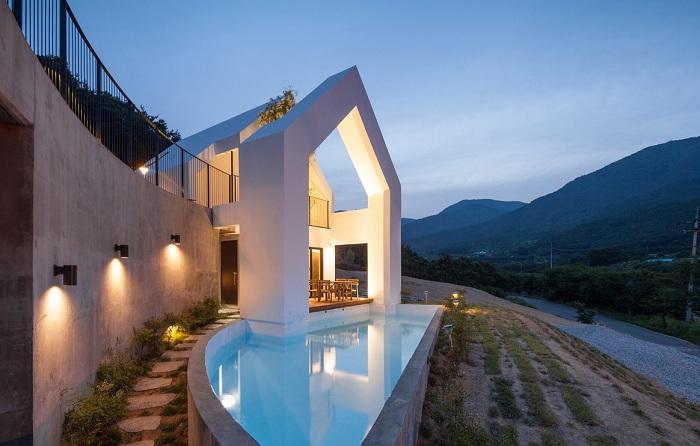 Baomaru House - жилой дом в Cheongdo-gun (Южная Корея).
