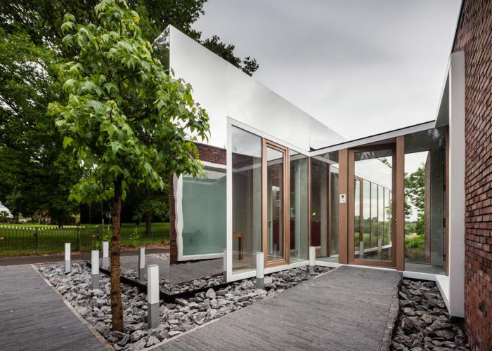 Архитекторский проект фирмы Atelier Vens Vanbelle.