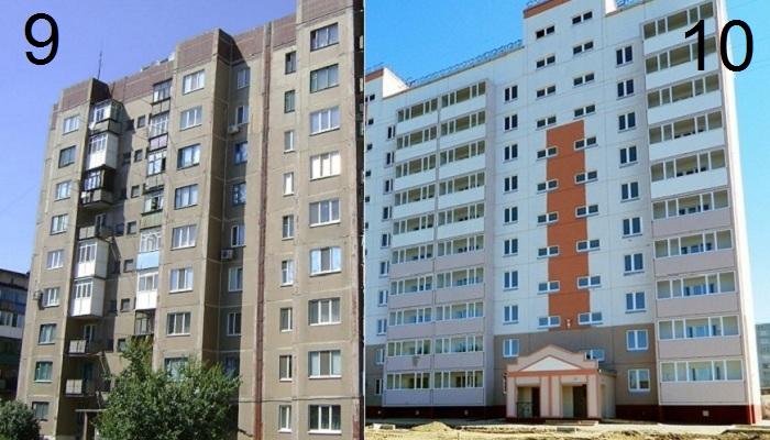 Почему в стандартных многоэтажках по 9 этажей.