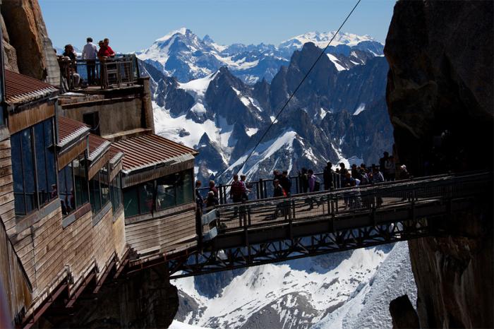 Мост на высоте 3482 метров над уровнем моря.