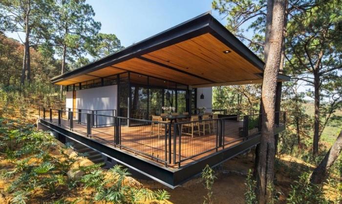 Частный дом Broissin house от архитектора Irekua Anatani.