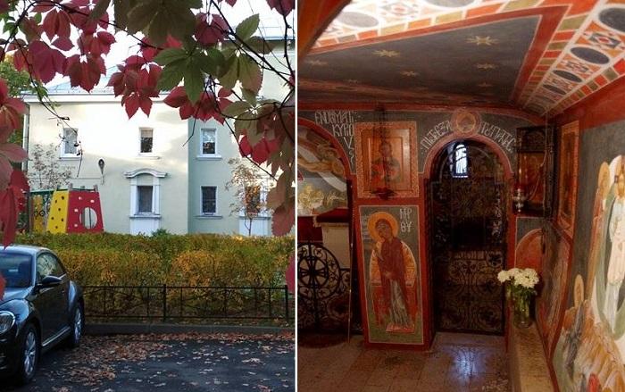 В Санкт-Петербурге есть квартира с собственной церковью.