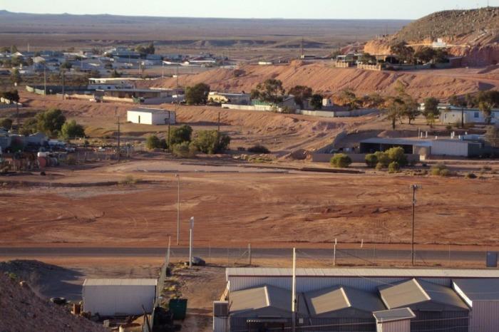 Город Кубер-Педи в Австралии.