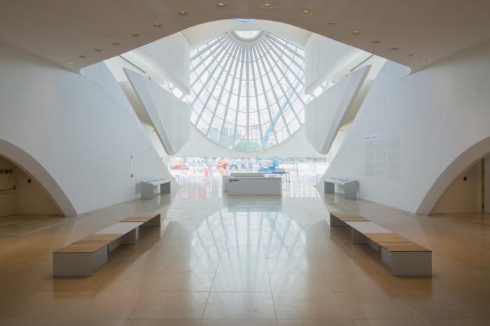 Museu do Amanha. Внутреннее помещение.