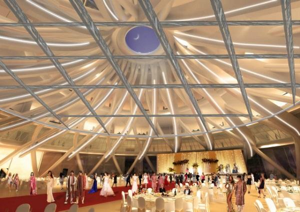International Convention Centre. Главный холл.
