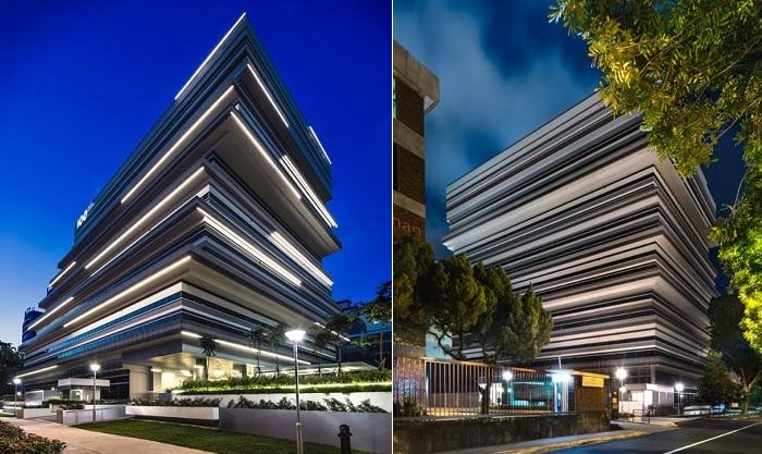 100PP - офисное здание со «смещенным» фасадом.