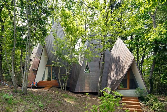 Архитектурный проект Hiroshi Nakamura.