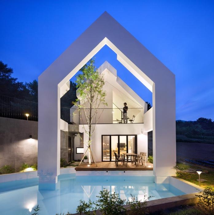 Baomaru House. Оригинальный дизайн.