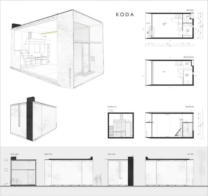 План дома Koda.