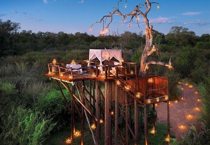 Lion Sands Game Reserve - экзотический отель в Южной Африке.