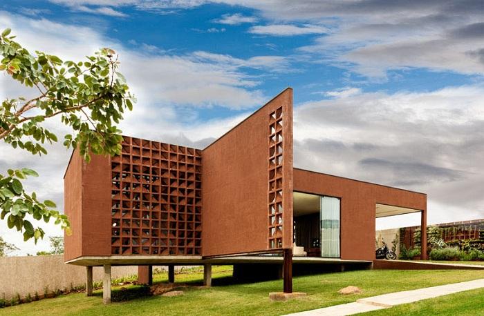 Архитекторский проект бразильского бюро 1:1 arquitetura:design.