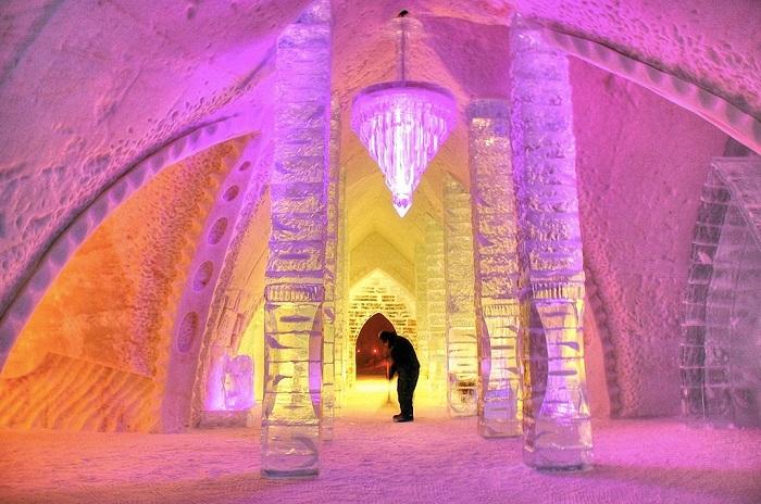 Площадь Icehotel занимает 5500 кв. метров.
