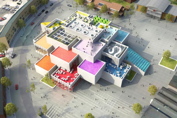 LEGO House - выставочный комплекс компании LEGO.