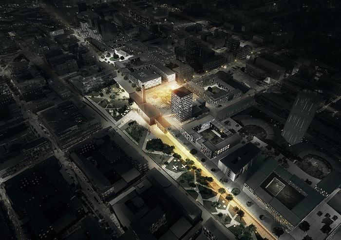 Будущая «городская гостиная» города Тампере.